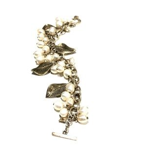 Silpada Sterling and Fresh Water Pearl Bracelet